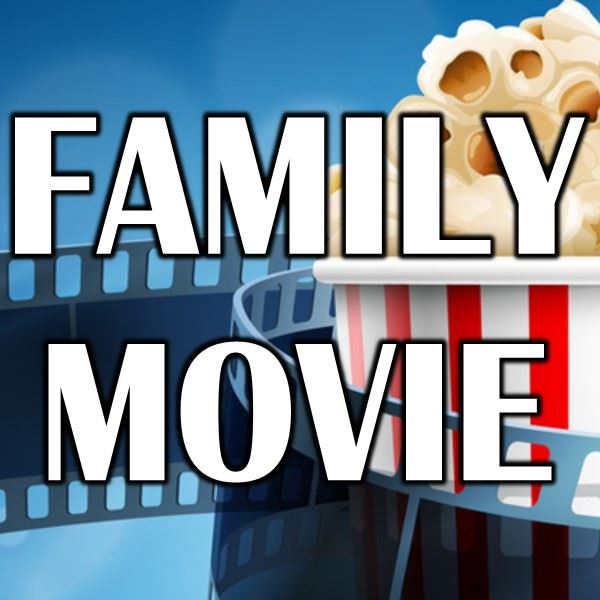 Family Movie - movie and popcorn