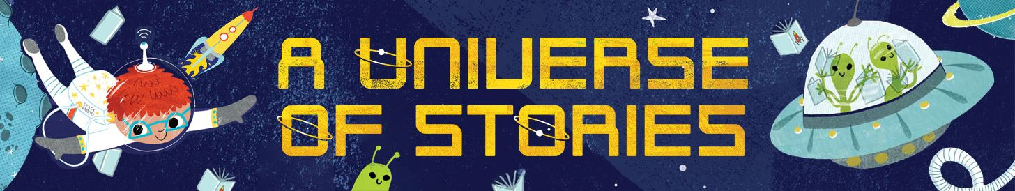A Universe of Stories Summer Reading Logo for Children 2019