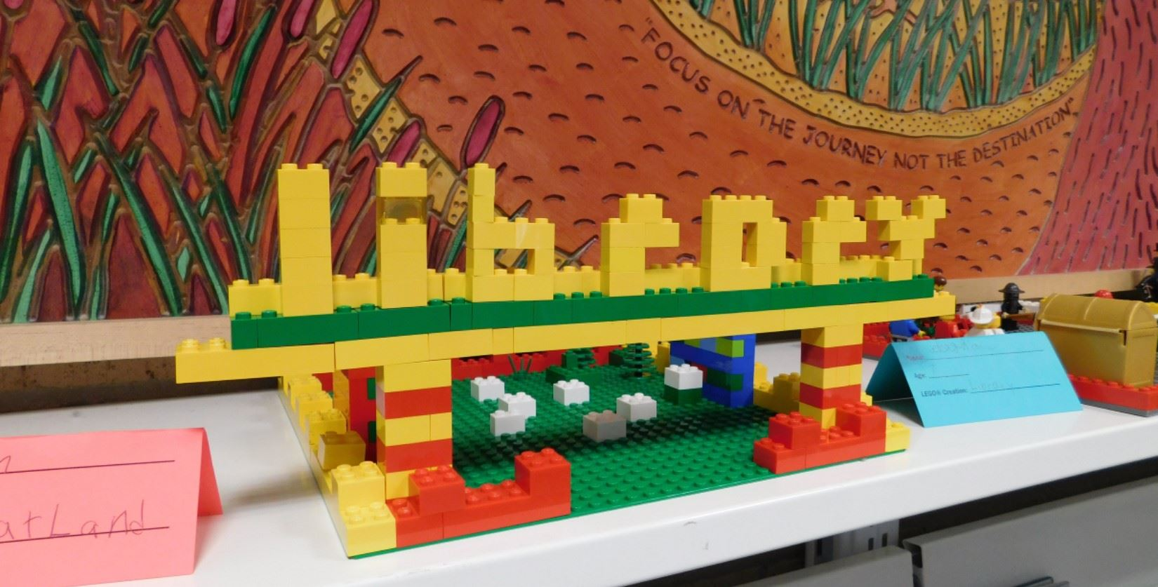 Lego creation spelling Library