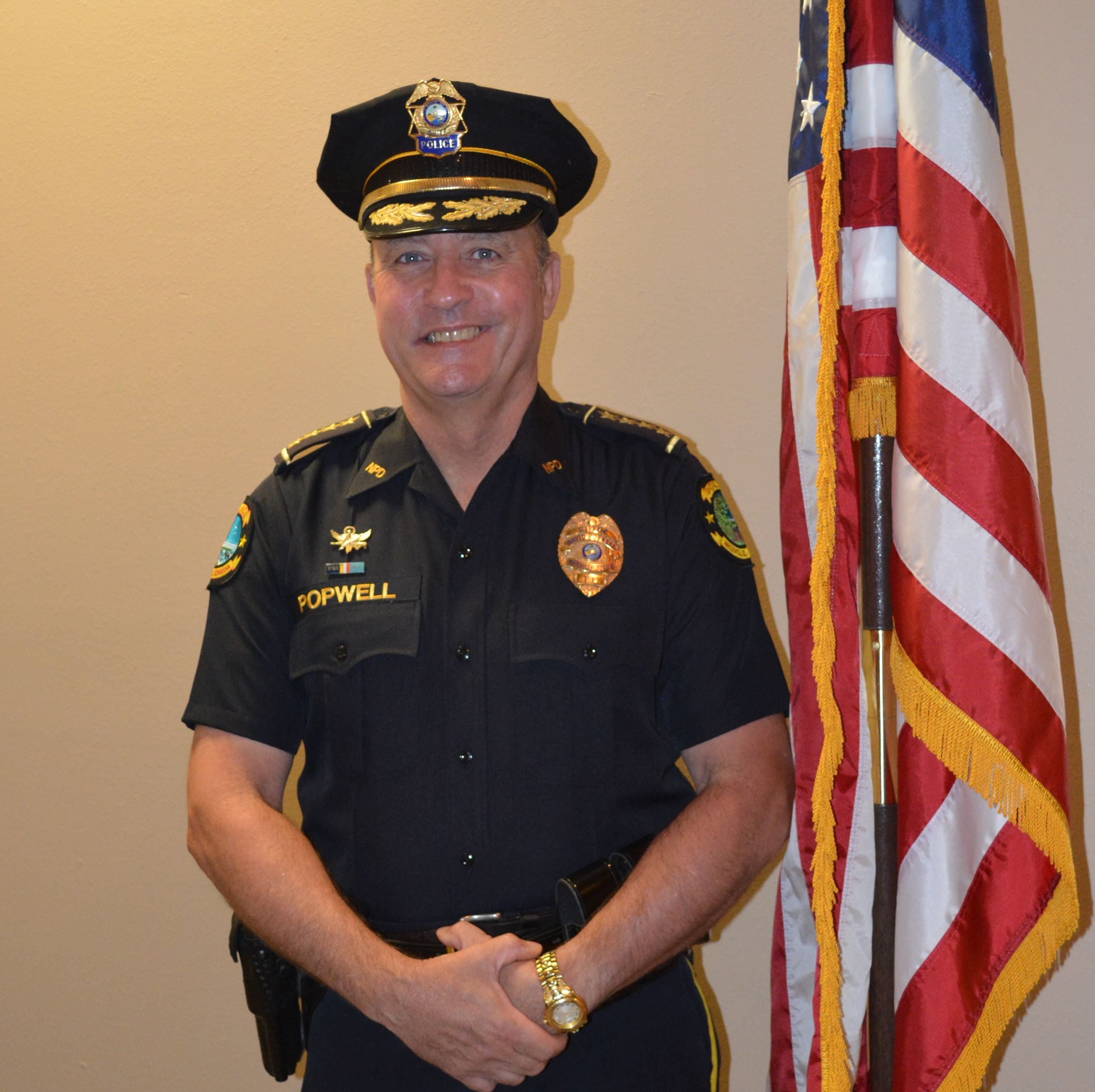 Police Chief David Popwell